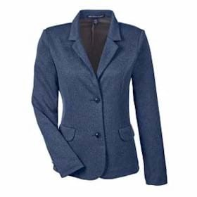 Devon & Jones LADIES' Herringbone Soft Blazer