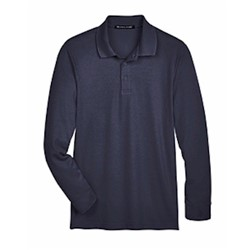 Devon & Jones | D&J CrownLux Tall Plaited LS Polo