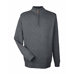 Devon & Jones | D&J Manchester Fully-Fashioned 1/4-Zip Sweater