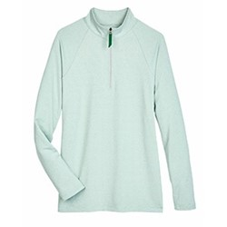 Devon & Jones | D&J Ladies' Clubhouse Micro-Stripe 1/4-Zip