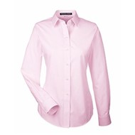 Devon & Jones | D&J Ladies' Crown Woven Collection™ Striped Shirt