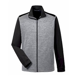 Devon & Jones | D&J Newbury Mélange Fleece Full-Zip
