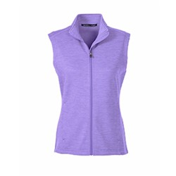 Devon & Jones | D&J Ladies' Newbury Mélange Fleece Vest
