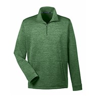 Devon & Jones | D&J Newbury Mélange Fleece Quarter-Zip