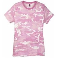 DISTRICT | District Made LADIES' Perfect Weight Camo Crew Tee