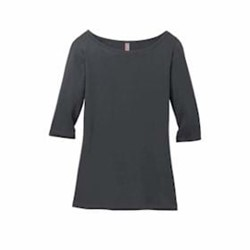 DISTRICT | District Made LADIES' 3/4-Sleeve Tee