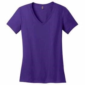 District Made LADIES' Perfect Weight V-Neck Tee