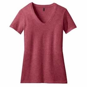 DISTRICT MADE LADIES' Perfect Blend V-Neck Tee