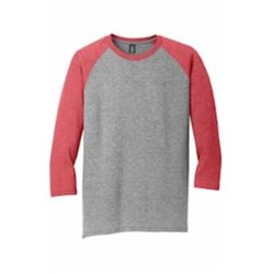 DISTRICT | District Made® Perfect Tri® 3/4-Sleeve Raglan