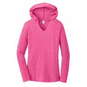 District Made® Ladies Perfect Tri® L/S Hoodie
