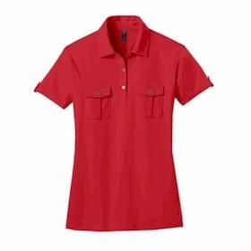 DISTRICT Made LADIES' Double Pocket Polo