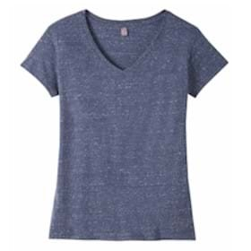 District Made® Ladies Cosmic Relaxed V-Neck Tee