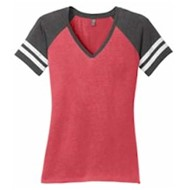 DISTRICT | District Made® Ladies Game V-Neck Tee