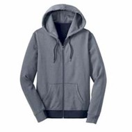 DISTRICT | DISTRICT MADE LADIES' Mini Stripe Full Zip Hoodie