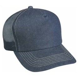 Outdoor Cap | Outdoor Cap Denim Front with Mesh Back Cap