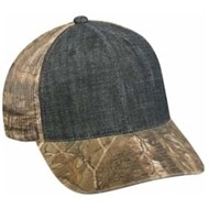 Outdoor Cap | Outdoor Cap Denim Front with Camo Mesh Cap