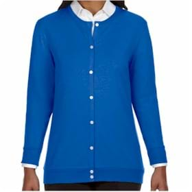 Devon & Jones Perfice Fit LADIES' Ribbon Cardigan