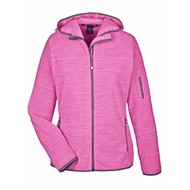 Devon & Jones | D&J Ladies' Perfect Fit™ Velvet Fleece Full-Zip