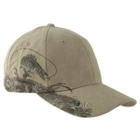 Dri Duck Walleye Wildlife Cap