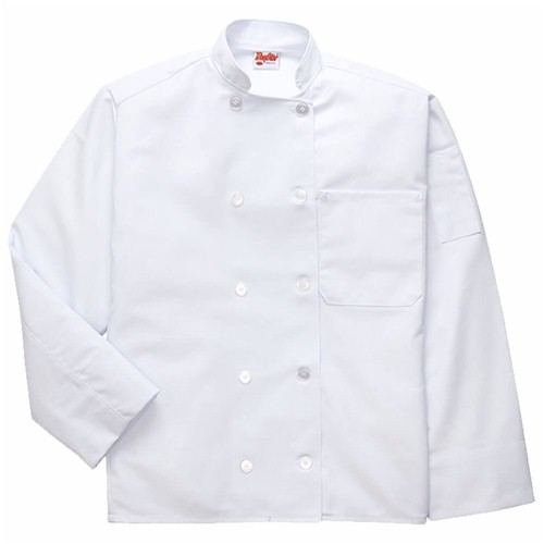 L/S DayStar Full Coverage Chef Coat