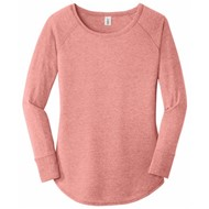 DISTRICT | District Ladies Perfect Tri Long Sleeve Tunic Tee