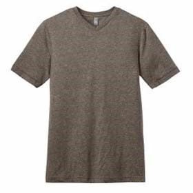 DISTRICT Young Mens Tri-Blend V-Neck Tee