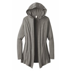 DISTRICT | District ® Ladies Perfect Tri ® Hooded Cardigan