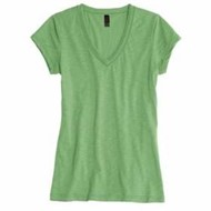 District Threads | District Threads Junior LADIES' Slub V-Neck Tee