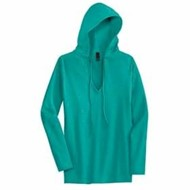 District Threads | District Threads Junior LADIES' Slub V-Neck Hoodie