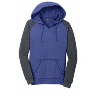 DISTRICT | District Ladies Lightweight Fleece Raglan Hoodie