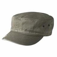 District Threads | District Threads Distressed Military Hat