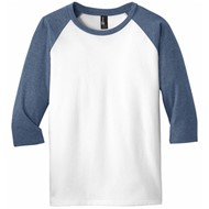 DISTRICT | District ® Youth V I Tee ® 3/4-Sleeve Raglan