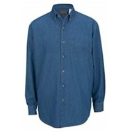 Edwards  | Edwards L/S Mid-Weight Denim Shirt