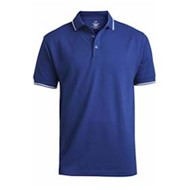 Edwards  | Tipped Collar & Cuff Blended Pique Polo