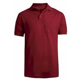 Edwards Soft Touch All Cotton Pocket Pique Polo