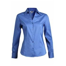 Edwards LADIES' V-Neck Tailored Stretch Blouse