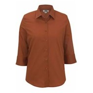 Edwards  | Edwards LADIES' 3/4 Sleeve Poplin Shirt