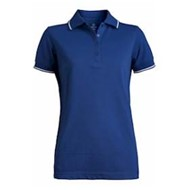 Edwards  | Edwards LADIES' Tipped Collar and Cuffs Polo