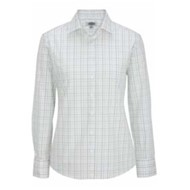 Edwards  | Edwards LADIES Tattersall Poplin L/S Shirt