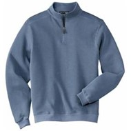 Port Authority | L/S PA Flatback Rib 1/4 Zip Pullover