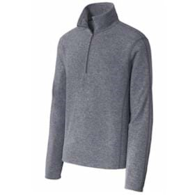 Port Authority Heather Microfleece 1/2-Zip