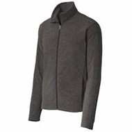 Port Authority | Port Authority Heather Microfleece Full Zip Jacket