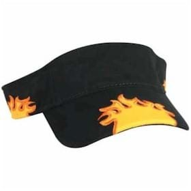 KC Flame Visor Predecorated