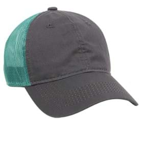 Outdoor Cap Heavy Garment Washed Mesh Back Cap