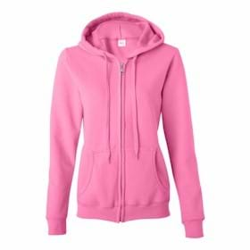 Gildan LADIES' MISSY FIT Hooded Sweatshirt