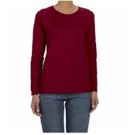 Gildan | Gildan LADIES' L/S 5.3oz. Missy Fit T-Shirt