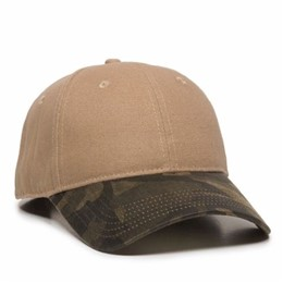 Outdoor Cap | Outdoor Cap Canvas Cap W/ Camo Bill