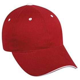 Outdoor Cap Contrasting Accents Unstructured Cap