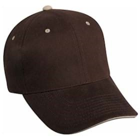 Outdoor Cap Structured with Contrasting Accent Cap