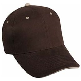 Outdoor Cap | Outdoor Cap Structured with Contrasting Accent Cap